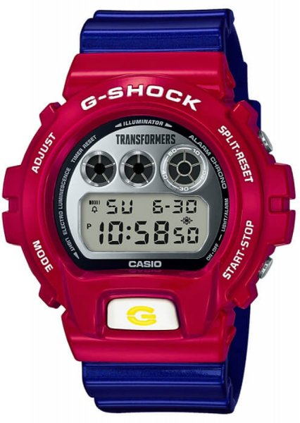 G-Shock DW6900TF-SET G-Shock Transformers x G-Shock Limited edition