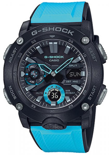 Zegarek Casio G-SHOCK GA-2000-1A2ER - duże 1