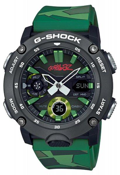 Zegarek Casio G-SHOCK GA-2000GZ-3AER - duże 1