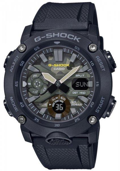 Zegarek męski Casio G-SHOCK g-shock GA-2000SU-1AER - duże 1