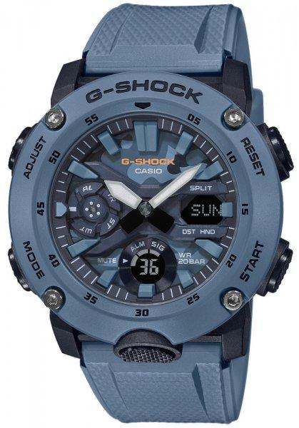 Zegarek Casio G-SHOCK GA-2000SU-2AER - duże 1