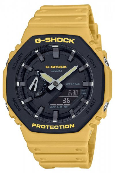 Zegarek męski Casio G-SHOCK g-shock GA-2110SU-9AER - duże 3