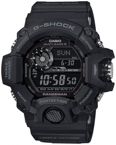 G-Shock GW-9400-1BER G-SHOCK Master of G RANGEMAN Black Out