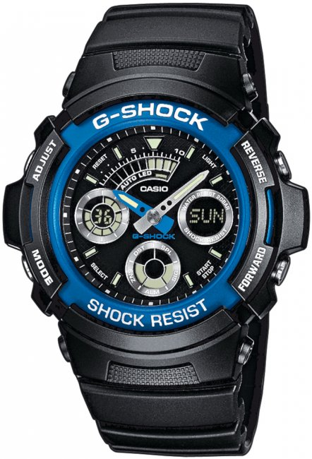 Zegarek Casio AW-591-2AER - duże 1