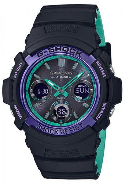 Zegarek Casio G-SHOCK AWG-M100SBL-1AER - duże 1