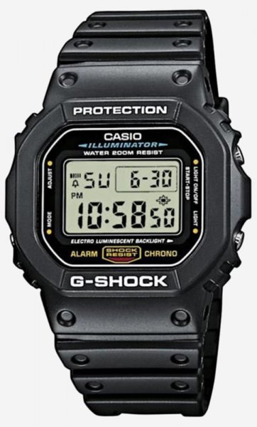 G-Shock DW-5600E-1VER G-SHOCK Original