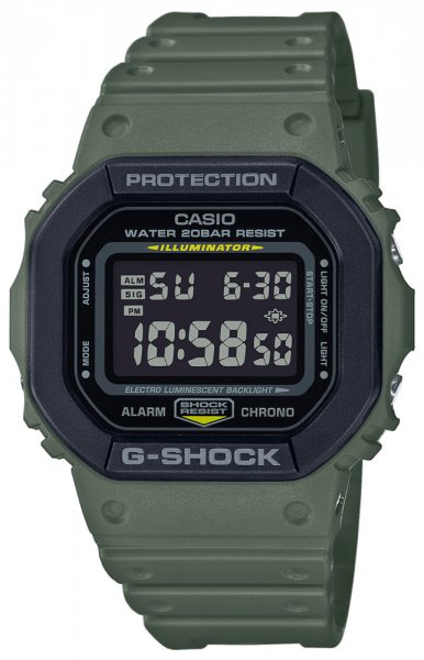 Zegarek Casio G-SHOCK DW-5610SU-3ER - duże 1