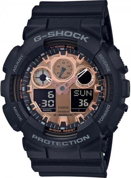 Zegarek Casio GA-100MMC-1AER - duże 1