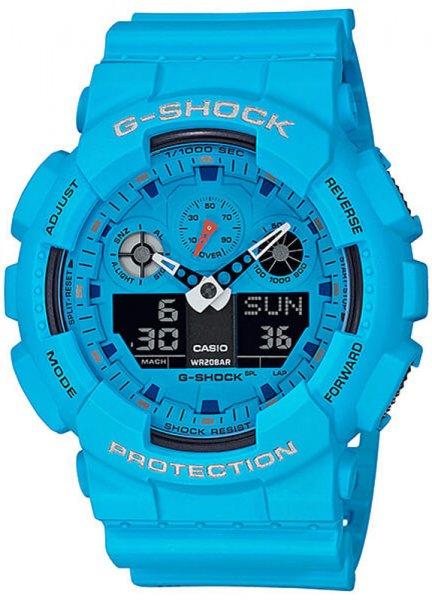 Zegarek Casio G-SHOCK GA-100RS-2AER - duże 1