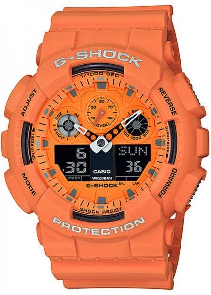 Zegarek Casio G-SHOCK GA-100RS-4AER - duże 1