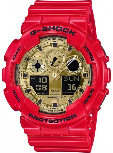 G-Shock GA-100VLA-4AER G-SHOCK Original