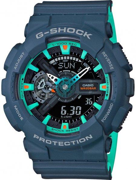 Zegarek G-Shock Casio Light Blue -męski - duże 3