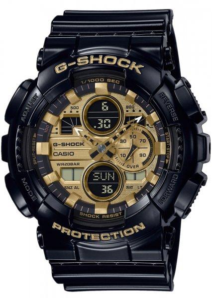 Zegarek męski Casio G-SHOCK g-shock original GA-140GB-1A1ER - duże 1