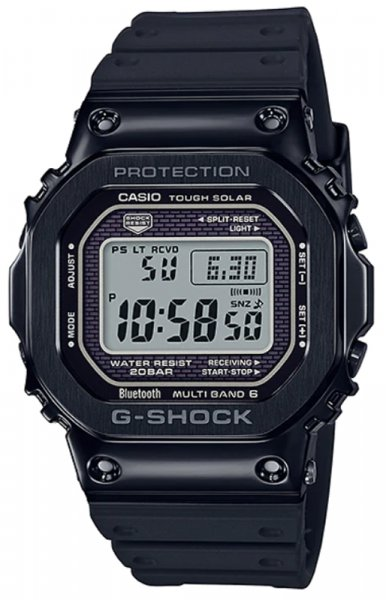 Zegarek męski Casio G-SHOCK g-shock specials GMW-B5000G-1ER - duże 3