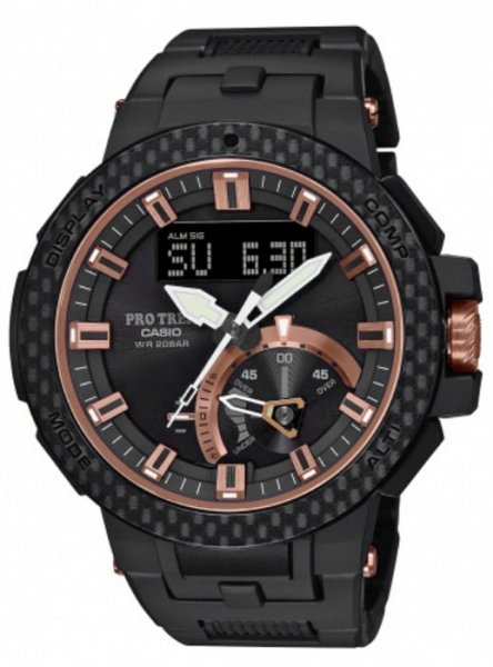 Zegarek męski Casio ProTrek protrek PRW-7000X-1ER - duże 1
