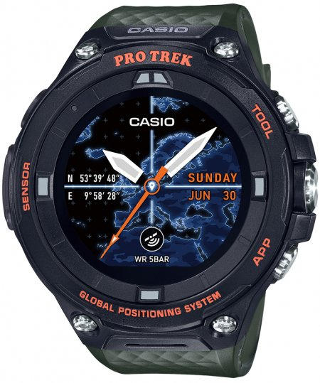 Zegarek Casio ProTrek WSD-F20A-GNBAE - duże 1