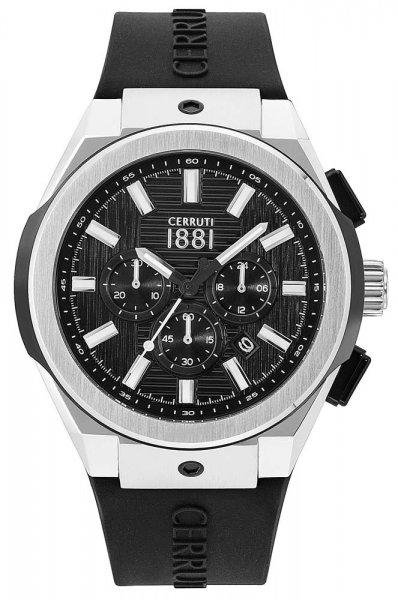 Zegarek Cerruti 1881 CRA163STB02BK - duże 1