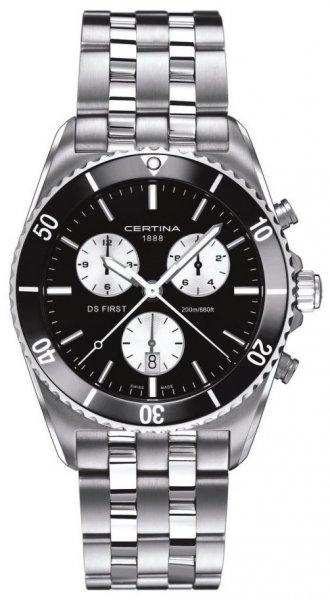 Zegarek męski Certina ds first C014.417.11.051.01 - duże 1