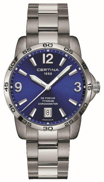 Zegarek Certina C034.451.44.047.00 - duże 1