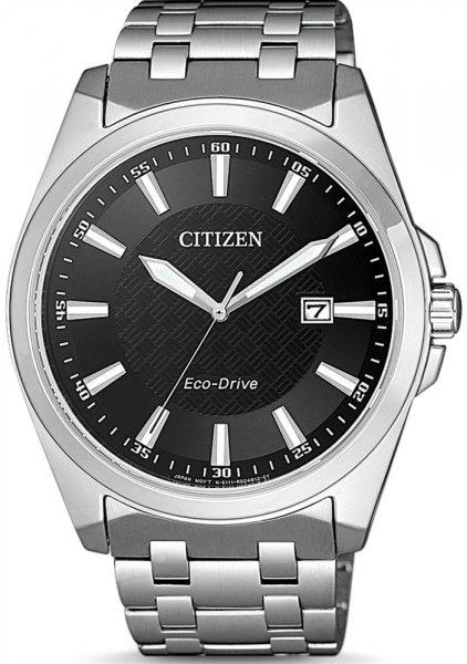 Zegarek męski Citizen ecodrive BM7108-81E - duże 1