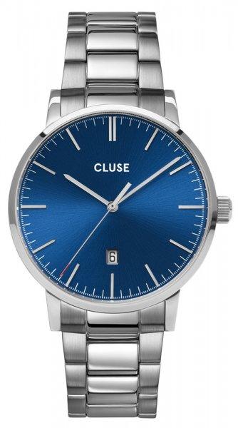 Cluse CW0101501011 Aravis Aravis steel silver dark blue