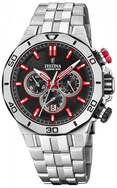 F20448-7 - zegarek męski - duże 3