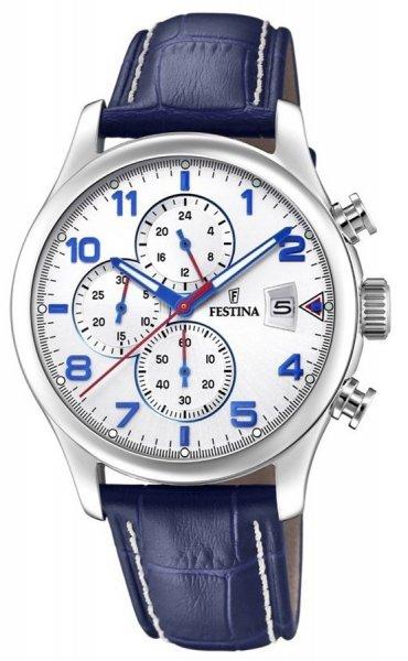 F20375-4 - zegarek męski - duże 3