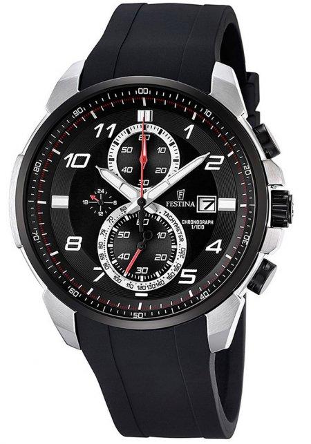 F6841-2 - zegarek męski - duże 3