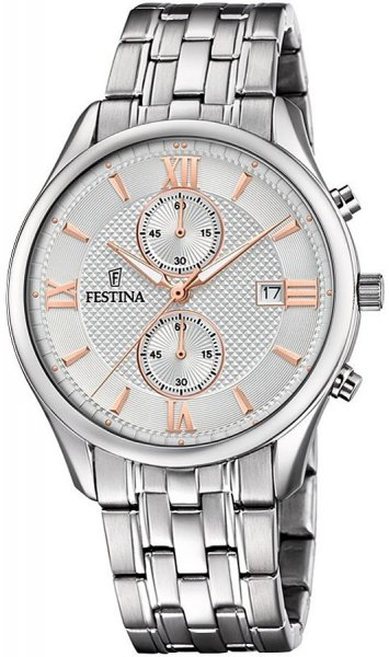 Zegarek Festina F6854-5 - duże 1