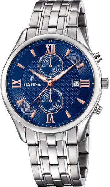 F6854-6 - zegarek męski - duże 3