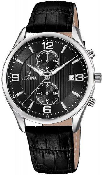 Zegarek męski Festina chronograf F6855-8 - duże 1