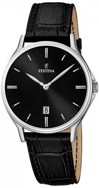 Zegarek męski Festina classic F16745-5 - duże 3