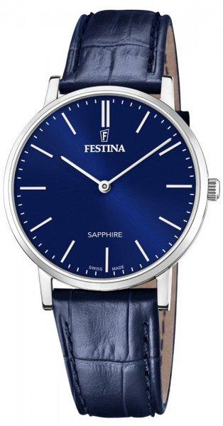 Zegarek Festina F20012-3 - duże 1