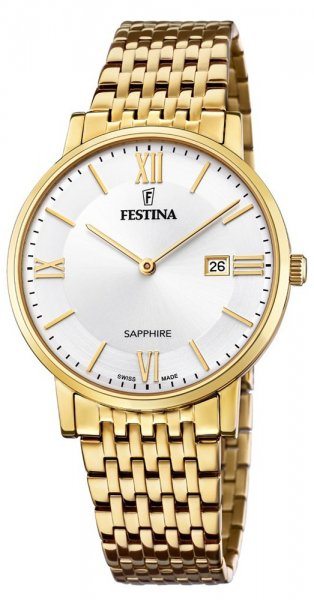 Zegarek Festina F20020-1 - duże 1