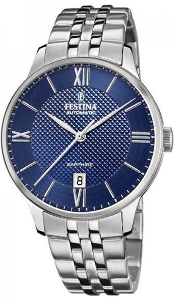Zegarek męski Festina classic F20482-2 - duże 1