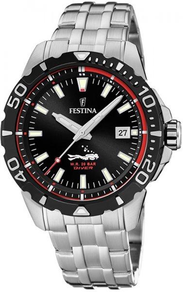 F20461-2 - zegarek męski - duże 3