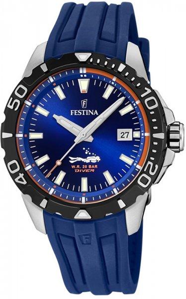 F20462-1 - zegarek męski - duże 3