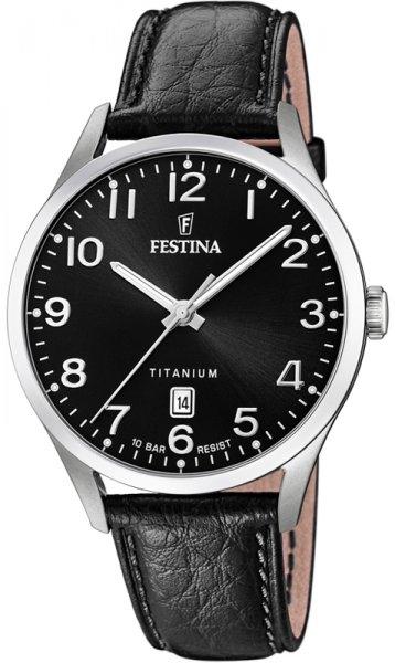 Festina F20467-3 Titanium Titanium Date