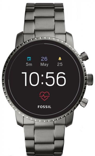 Fossil Smartwatch FTW4012 Fossil Q Gen 4 Smartwatch Q Explorist Smoke Stainless Steel