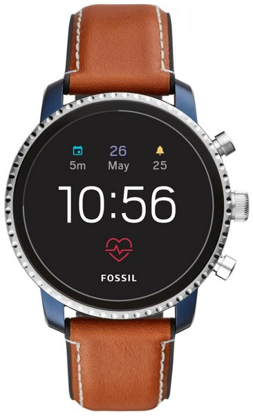 Fossil Smartwatch FTW4016 Fossil Q Gen 4 Smartwatch - Explorist HR Tan Leather
