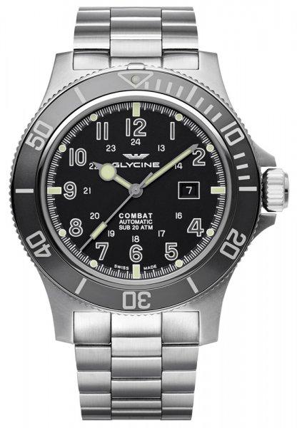 Zegarek Glycine  GL0095 - duże 1