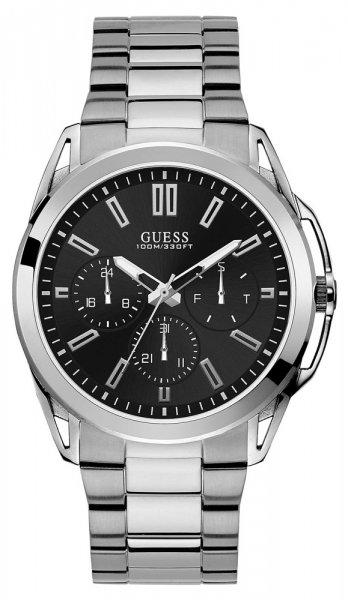 Zegarek męski Guess bransoleta W1176G2 - duże 1