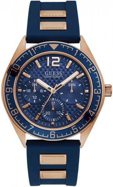 Zegarek męski Guess pasek W1167G3 - duże 1