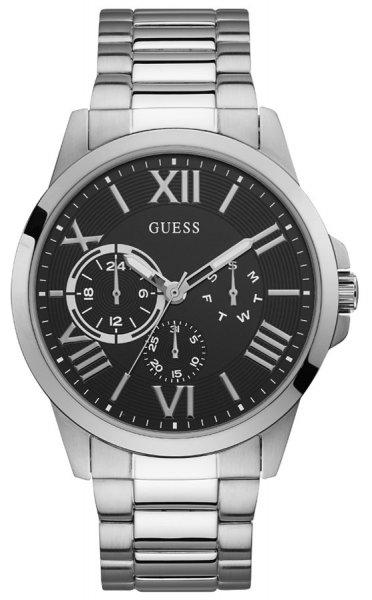 Zegarek męski Guess pasek W1184G1 - duże 3