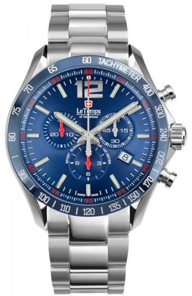 Zegarek Le Temps LT1041.19BS01 - duże 1