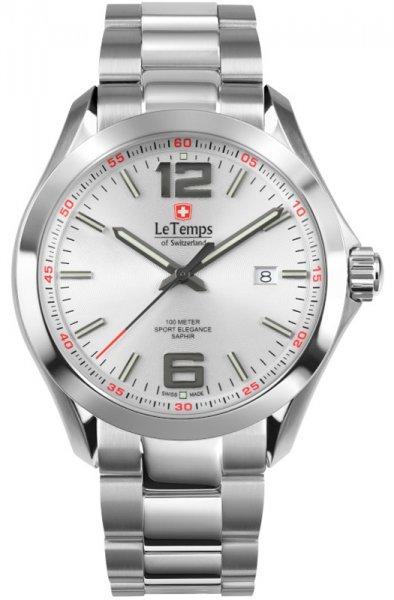 Zegarek Le Temps LT1040.07BS01 - duże 1