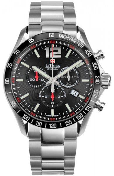 Zegarek Le Temps LT1041.18BS01 - duże 1