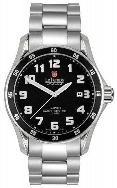 Zegarek Le Temps  LT1078.01BS01 - duże 1