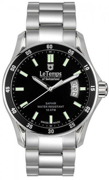 Zegarek Le Temps LT1078.11BS01 - duże 1