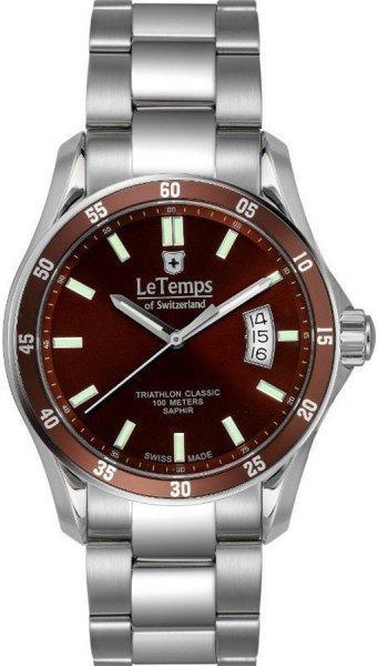 Zegarek Le Temps LT1078.16BS01 - duże 1